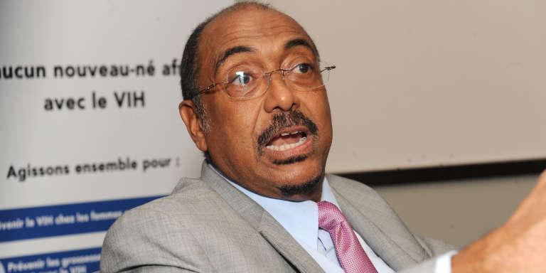 Michel Sidibé, directeur exécutif de l'Onusida, à Dakar en novembre 2014.