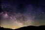 La Voie lactée vue des Cévennes, le 8 juin.