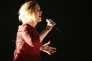 La chanteuse Adele sur scène à Los Angeles, le 29 mai 2016.