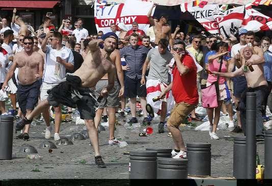 Des supporteurs anglais, samedi 11 juin à Marseille.