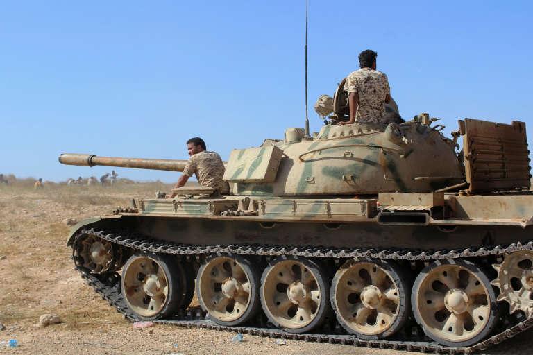 Les forces loyales au GNA, essentiellement composées de milices de la ville de Misrata, sont entrées mercredi dans Syrte et progressent depuis à l'intérieur de la cité.