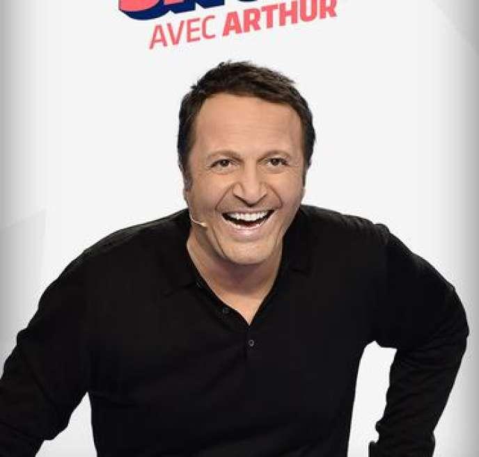 Arthur lors de l'émission« Cinq à Sept».