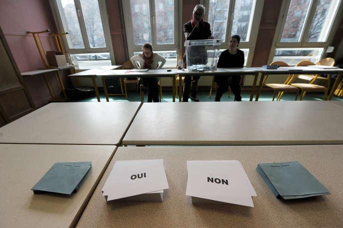Référendum sur la collectivité territoriale d'Alsace, le 7 avril 2013.