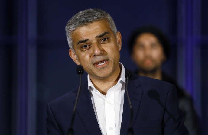 Le maire de Londres, Sadiq Khan, le 7 mai 2016.