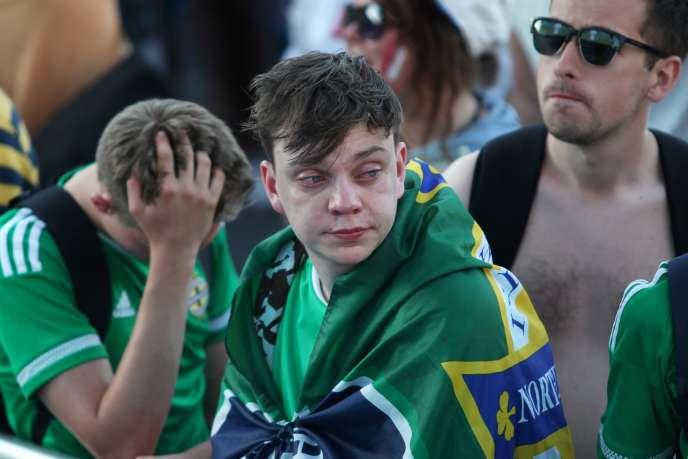 Supporteurs nord-irlandais.