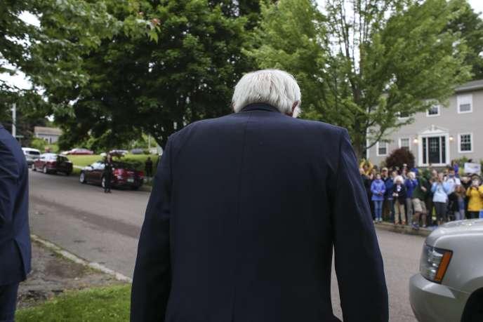 Bernie Sanders a répété qu'il ferait « tout ce qui est en (s)on pouvoir » pour que Donald Trup, probable candidat républicain, ne soit pas élu président.