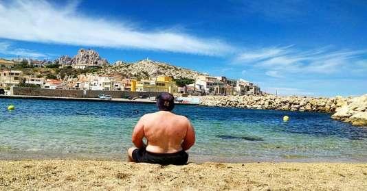 Alexeï Molodoï à Marseille, sur une photo postée lundi sur les réseaux sociaux russes.