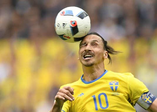 Zlatan Ibrahimovic, le 13 juin au Stade de France.