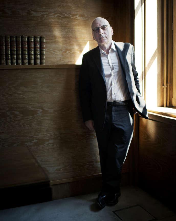 Alain Prochiantz, chercheur en neurobiologie, professeur et administrateur du Collège de France, à Paris, le 9 juin.