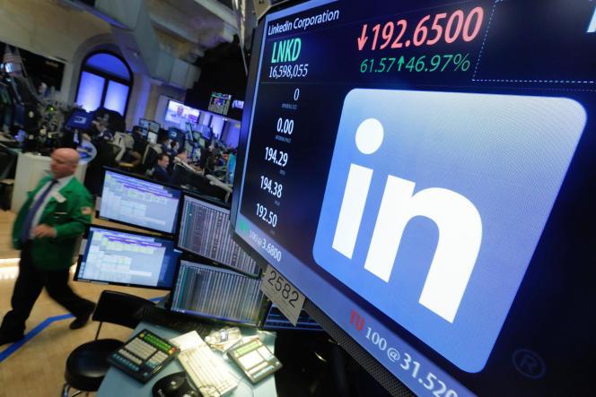 Au New York Stock Exchange, la Bourse des valeurs technologiques, le 13 juin.
