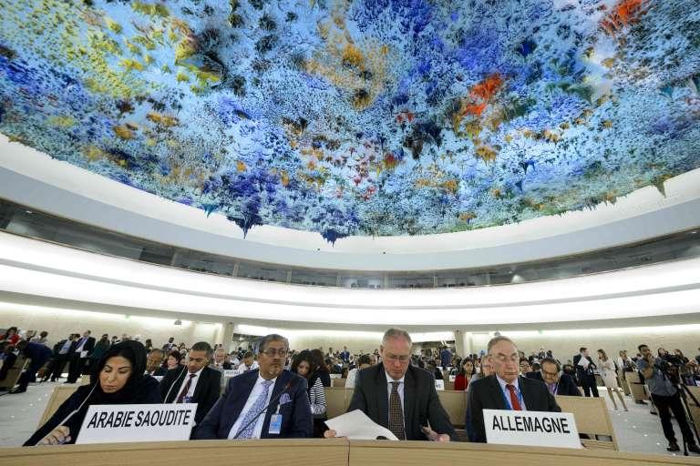 L'ouverture de la session du Conseil des droits de l'homme de l'ONU à Genève, le 13 juin.