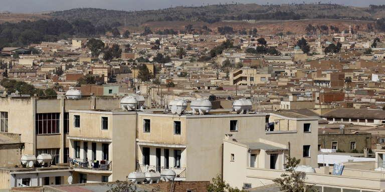 Une vue d'Asmara, la capitale érythréenne, le 20 février 2016.