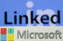 Logos de LinkedIn et Microsoft.
