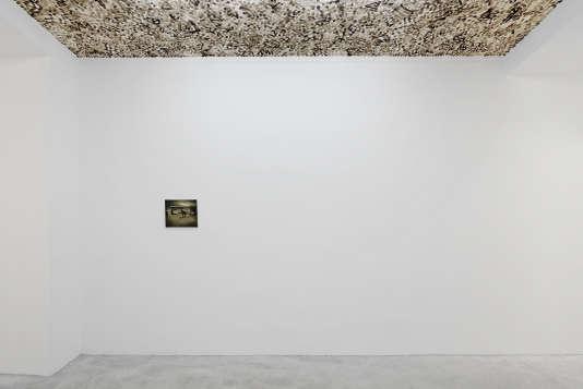 Plafond deOlivier Kosta-Théfaine, toile de Guillaume Bresson.