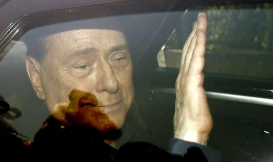 Silvio Berlusconi, le 18 juillet 2014 en Italie.