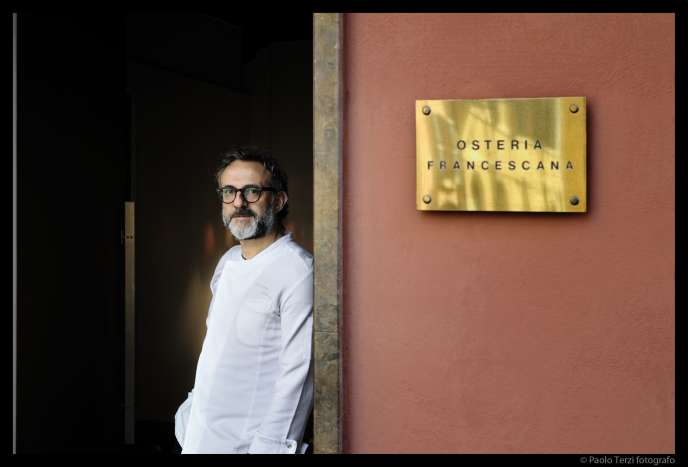 Le restaurant de Massimo Bottura, l'Osteria Fancescana, à Modène (Italie), a été couronné meilleur restaurant 2016, le 13 juin à New York.