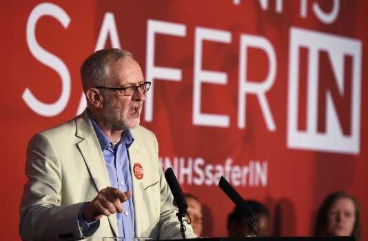 Jeremy Corbyn à Londres, mardi 14 juin.