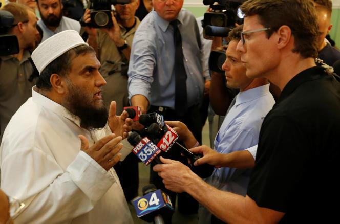L'imam Syed Chafiq Rahman, au centre islamique de Fort Pierce, le 12 juin.
