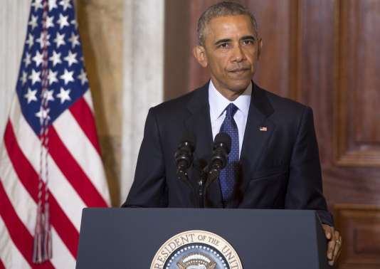 Le président américain, Barack Obama, à Washington, le 14 juin 2016.