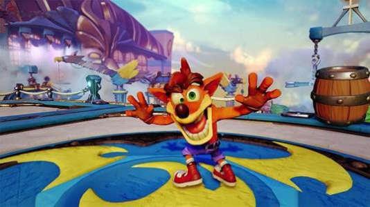 Crash Bandicoot dans Skylanders : Transformed
