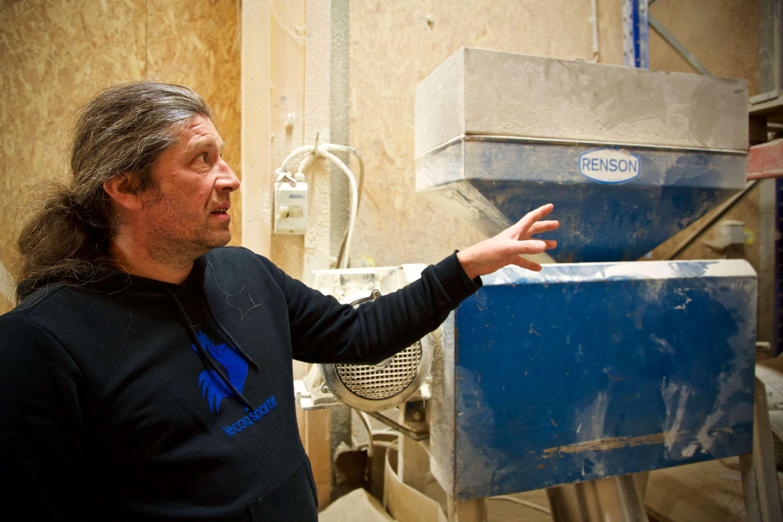 Xavier Leproust, qui était à la tête de la brasserie An Alarc'h, est devenucogérant de Tri Martolod en 2015.