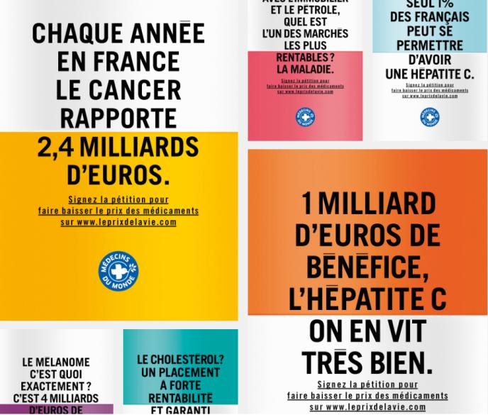 La campagne de Médecins du monde a débuté le 13 juin 2016 sur Internet.