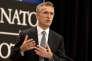 Le secrétaire général de l'Organisation du traité de l'Atlantique Nord (OTAN), Jens Stoltenberg, à Bruxelles, le 13 juin.