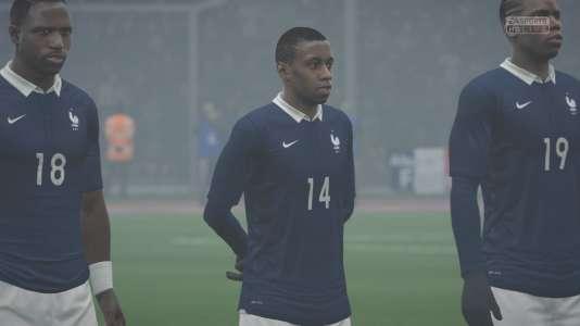 L'équipe de France dans le jeu vidéo «FIFA 16».