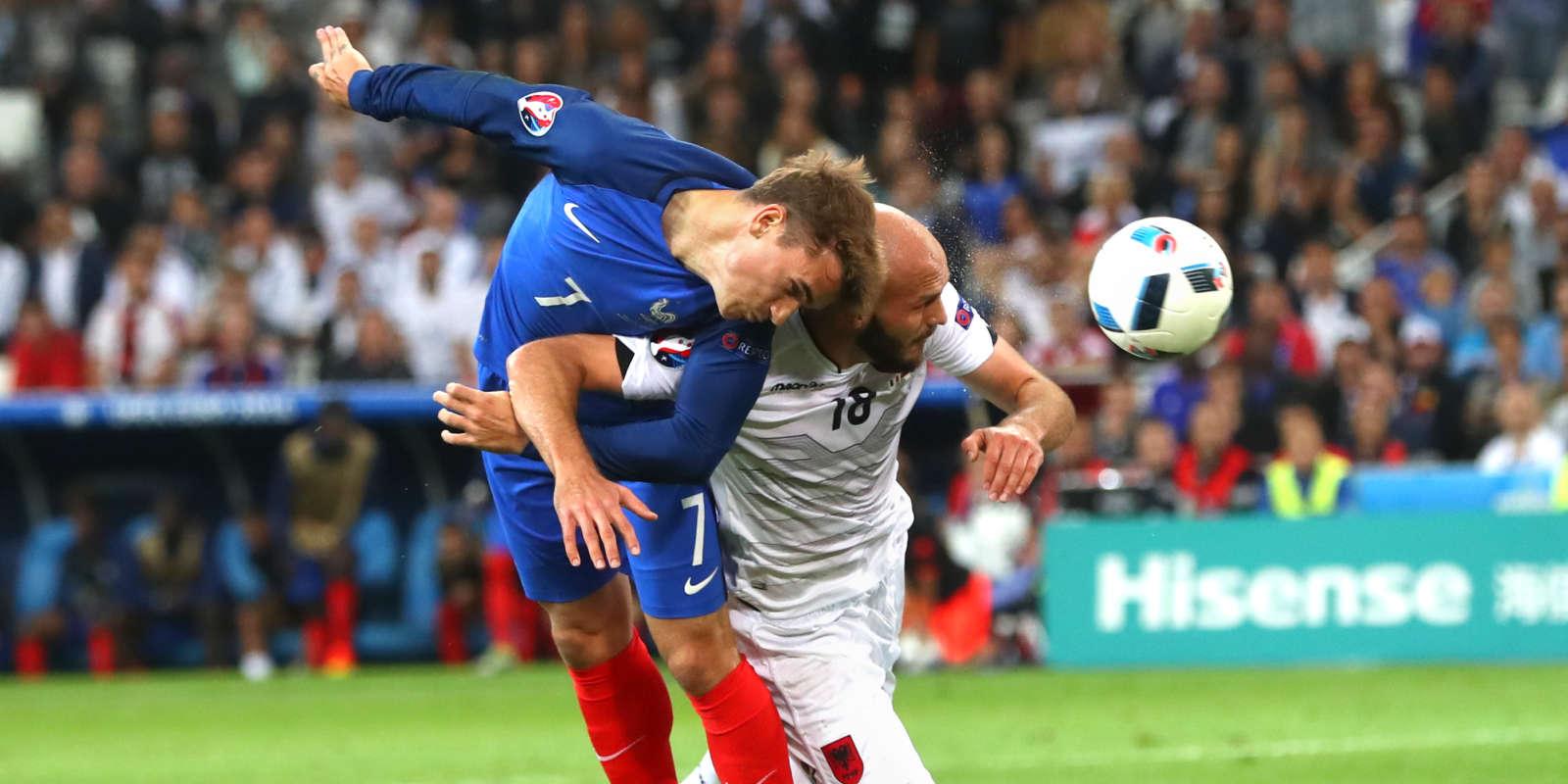 Griezmann a ouvert la marque à l'ultime minute du match.