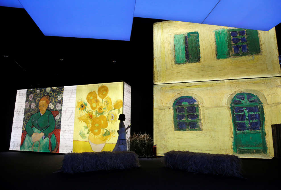 Cent ving-cinq ans après sa mort, cette présentation fait partie des nombreuses commémorations consacrées au peintre qui s'adressent à un public de plus en large, en quête de sensations visuelles fortes.