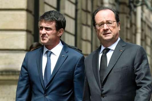 Le premier ministe et le président de la République, le 15 juin à l'Elysée.