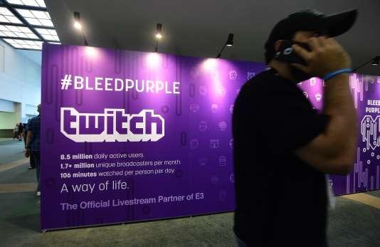 Twitch était présent à l'E3, le salon du jeu vidéo de Los Angeles.