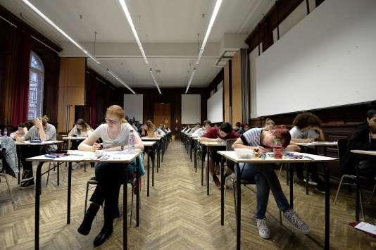 Examen du bac 2016.