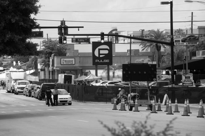 The Pulse night club is still bock off as a police scence since Sunday nights massacre.