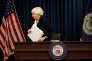 Janet Yellen, présidente de la Fed, le 15 juin.