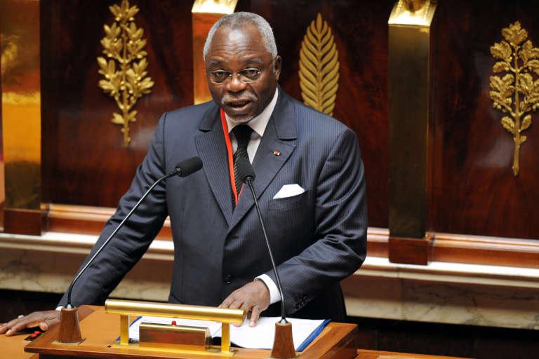 Guy Nzouba-Ndama, ancien président de l'Assemblée nationale du Gabon, est candidat à la présidentielle qui doit se tenir en août 2016.