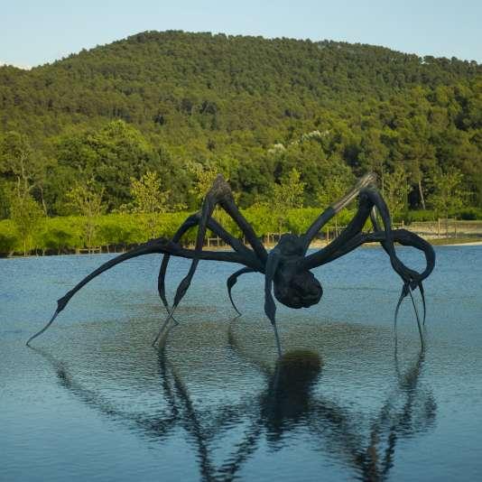 «Crouching Spider » (2003), de Louise Bourgeois, à découvrir au château La Coste