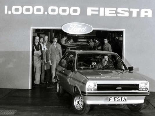 1979 : la millionième Fiesta sort de l'usine espagnole de Valence.