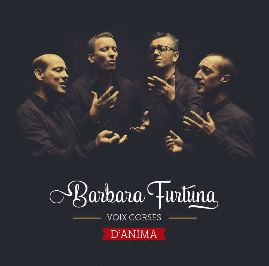 Pochette de l'album « D'Anima », de Barbara Furtuna.