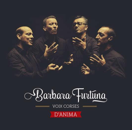Pochette de l'album« D'Anima», deBarbara Furtuna.