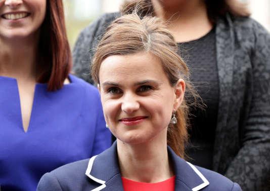 La députée Jo Cox, le 12 mai 2015.