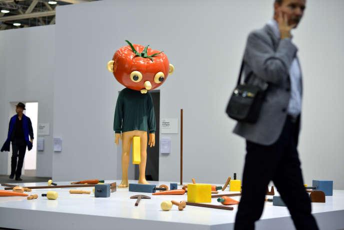 «Tomato Head (Green)», de Paul McCarthy (1994).