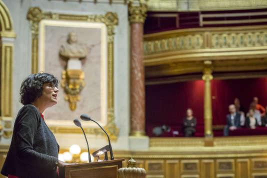 Myriam El Khomri, ministre du Travail le 13 juin.