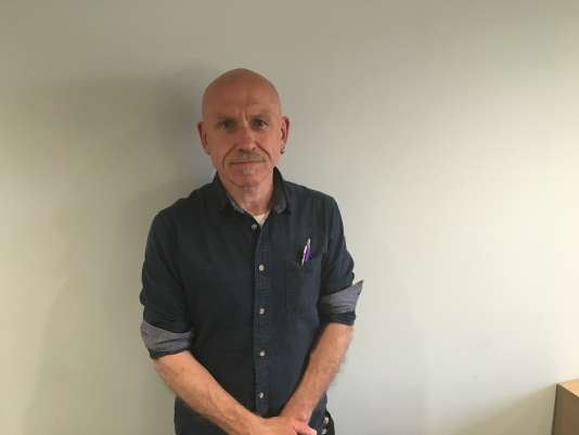 Duncan Smith, fonctionnaire à la mairie d'Edimbourg et membre du syndicat Unison, favorable au «Brexit».
