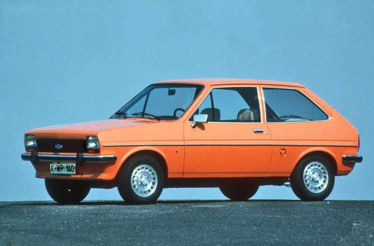 La Ford Fiesta 1.1 Ghia, de 1976.
