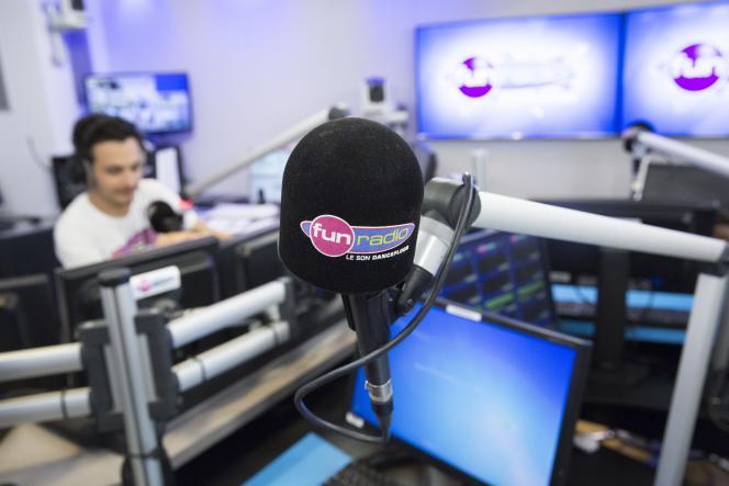 L'animateur de Fun Radio JB, le 8 février.