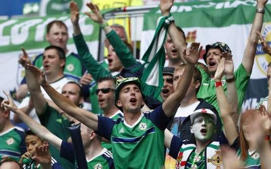 Les fans nord-irlandais candidatent au titre de meilleur public de l'Euro.
