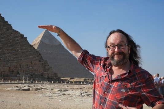 Le chef cuisinier Dave Myers en Egypte.