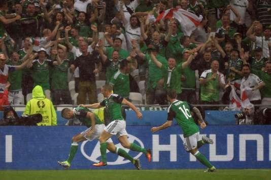 Gareth McAuley est le premier buteur nord-irlandais de l'histoire des championnats d'Europe de football.