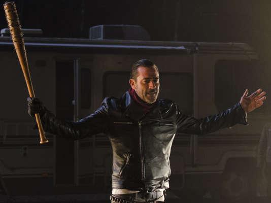 Negan, le personnage longuement attendu au cours de la saison 6 de The Walking Dead.